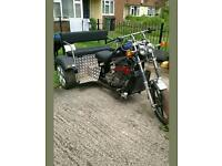 Reliant 850 trike moted