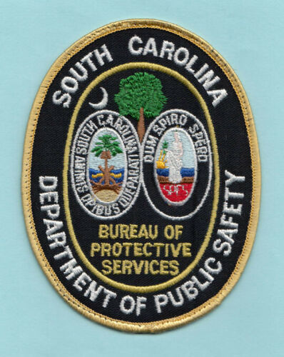 Z2 * SOUTH CAROLINA DEPT PUBLIC SAFETY SCDPS STATE POLICE SWAT PATCH PROTECTIVE