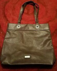 Large grey lipsy london bag