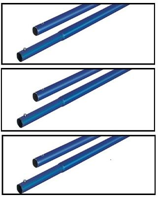 6 Bull Float Pole Handles Kraft Tool Aluminum 4 X 1-34 For Concrete Finishing