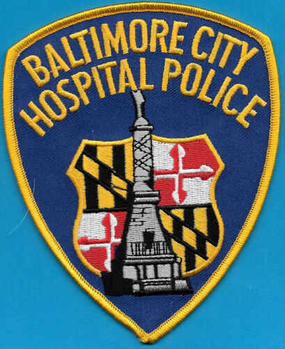 BALTIMORE CITY HOSPITAL POLICE MARYLAND MD BPD PD MONMENT (FIRE)