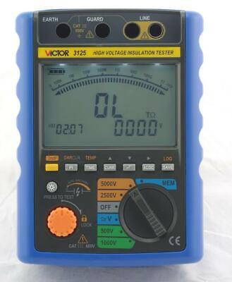 Vc3123vc3125 Digital High Voltage Insulation Resistance Tester Meter