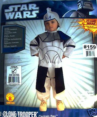 Star Wars Rex Romper Toddler Costume free shipping with buy it now price NEW (Buy Star Wars Costume)