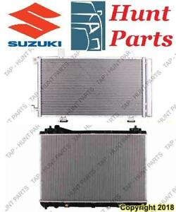 All Suzuki AC compressor Condenser Radiator Support Fan Cooling Compresseur AC Condenseur Radiateur Support Ventilateur