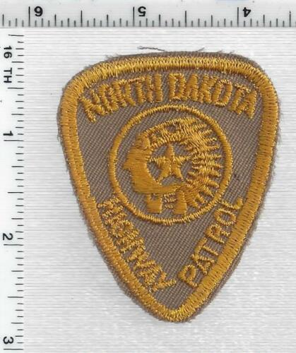 Highway Patrol (North Dakota) 1st Issue Uniform Take-Off Cap/Hat Patch