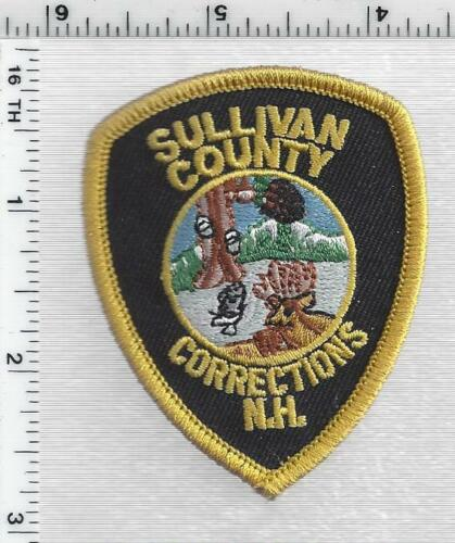 Sullivan County Corrections (New Hampshire) 1st Issue Cap/Hat Patch