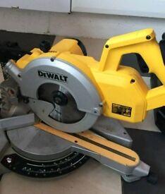 dw777 dewalt saw