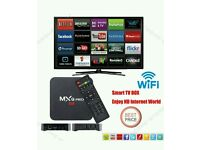 MXQ PRO ANDROID TV BOX. BEST IPTV. HD.