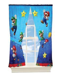 Super Mario Curtains Ebay