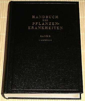 Sorauer - HANDBUCH DER PFLANZENKRANKHEITEN 2. Band 1. Lieferung VIRUSKRANKHEITEN