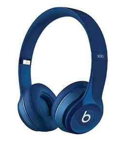 NEW Beats by Dr. Dre Solo 2.0 On-Ear Headphones - Blue