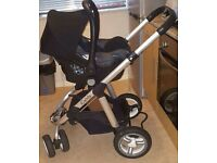 iCandy pear double pram