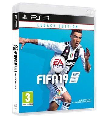 VIDEOGIOCO FIFA 19 LEGACY EDITION PS3 ITALIANO GIOCO FIFA 2019 PLAY STATION 3