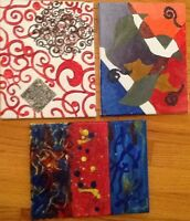8 x10 ART SCENES, ABSTRACTS, STILLS.  $10 each. Local artist.