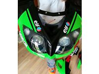 Full Kawasaki Fairings Kit with Fuel Tank for ZX10