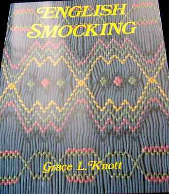 ~ NEW GRACE KNOTT SMOCKING HEIRLOOM SEWING PATTERN BOOK BASIC TO ADVANCED ~