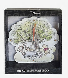 DISNEY WINNIE THE POOH HUNDRED ACRE WOOD WALL CLOCK