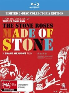 The Stone Roses - Made Of Stone (Blu-ray, 2013, 2-Disc Set) New & Sealed