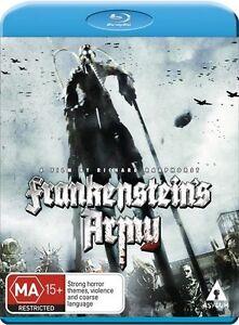 Frankenstein's Army NEW B Region Blu Ray