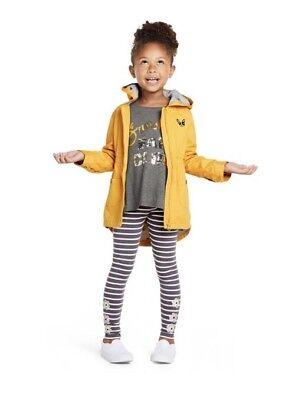 NWT Gymboree Girl Hello Yellow Fun Club Tunic & Leggings Outfit 7 8 10 12 14