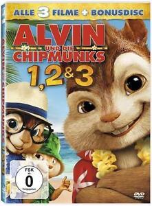 Alvin und die Chipmunks - Teil 1-3 (2012) - <span itemprop=availableAtOrFrom>Waldbrunn, Deutschland</span> - Alvin und die Chipmunks - Teil 1-3 (2012) - Waldbrunn, Deutschland