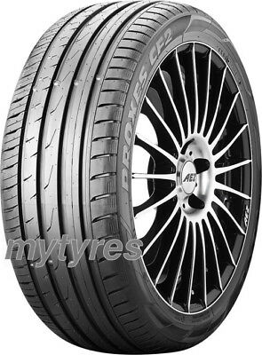 4x SUMMER TYRES Toyo Proxes CF2 205/55 R17 95V XL