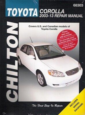 2003-2013 Toyota Corolla Chilton Service Repair Maintenance Workshop Manual 2479