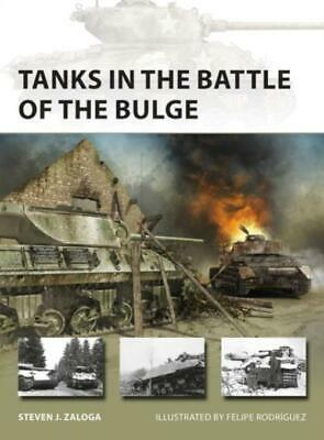 New Vanguard 281: Tanks in the Battle of the Bulge BOOK