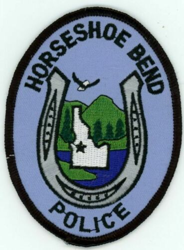IDAHO ID HORSESHOE BEND POLICE NEW SHOULDER PATCH SHERIFF