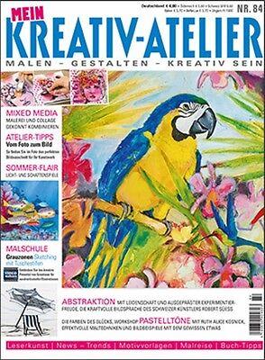 Mein Kreativ Atelier # 84 SOMMER - Flair -- Licht&Schatten - Malerei&Collage