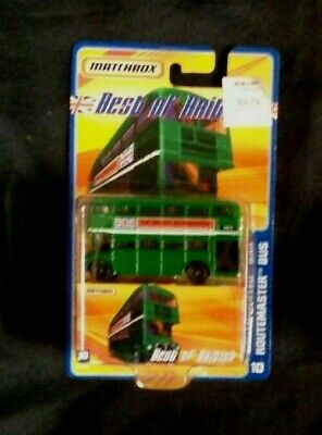 MATCHBOX BEST of BRITISH ROUTEMASTER BUS 10 New in Package NIP