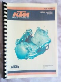 KTM EXC ENGINE SERVICE MANUAL