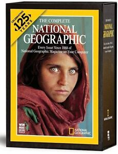 The Complete National Geographic Celebrating 125 Years The Newest Version