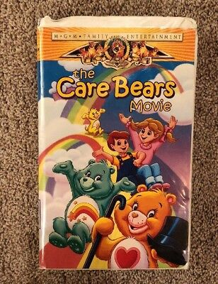 The Care Bears Movie (VHS, 1984) Clamshell Case