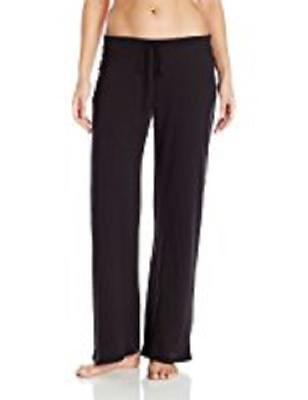 BRAND NEW YUMMIE $58 PIMA COTTON DRAWSTRING JERSEY LOUNGE PANTS BLACK SIZE S Cotton Jersey Drawstring Pants