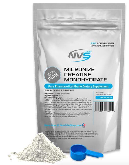 2.2 lb 1000g Ultra Micronized Creatine Monohydrate Powder Pharmaceutical Kosher