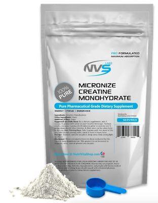 2500g (5.5 lb) MICRONIZED CREATINE MONOHYDRATE POWDER PHARMACEUTICAL KOSHER