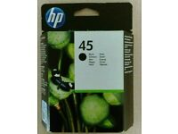 HP 45 original sealed printer cartridge