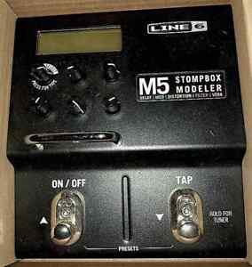 LINE 6 M5 STOMPBOX MULTI EFFECTS PEDAL