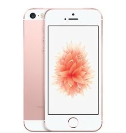 iPhone SE rose gold Brand New 16GB