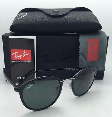 New RAY-BAN Tech Series Sunglasses RB 4242 601/71 49-21 Black Frame w/Green Lens - Serie Black Frame