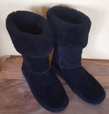 Bearpaw Stiefel Marissa Boots Schwarz Grösse 41 Wie Neu