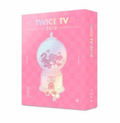 K-PoP TWICE TV 2018 DVD [ 1 PHOTOBOOK + 4 DVD ]