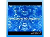 Heatwave hot tub hire