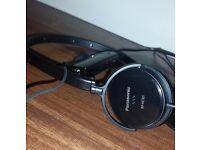 Panasonic Lightweight Noise Cancelling On-Ear Headphones Travel Pouch RP-HC101-K