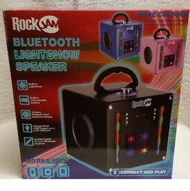 Rockjam Party Bluetooth Disco Party Speaker, Available In 3 Colours BRAND NEW