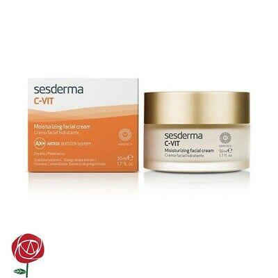 Sesderma C-VIT MOISTURIZING FACIAL CREAM 1.7 fl.oz. discoloration, dark (C-vit Moisturizing Facial Cream)