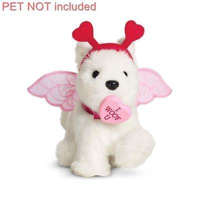 New American Girl My Furry Valentine Set~Pet Toy~Cupid Costume~Heart - Girl Cupid Costume
