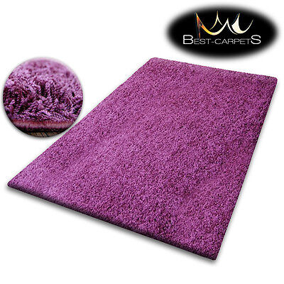 Cheap Purple Carpet (CHEAP SOFT RUGS SHAGGY 5cm PURPLE HIGH QUALITY nice in touch CARPETS MANY)