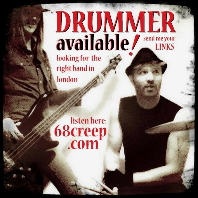 ******* Indie rock DRUMMER AVAILABLE....FOR THE RIGHT BAND *******